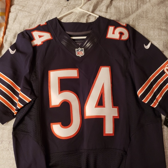 new concept db231 d7b0e Nike Authentic Brian Urlacher Jersey Size 40(Med)